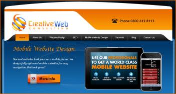 Creative Web Testimonial